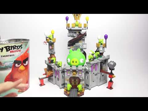 LEGO Angry Birds Обзор. Битва Лего Энгри Бердс против свинок. Angry Birds в кино. Лего Злые птички