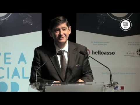 Patrick Kanner – French Minister of Town, Youth and Sport - Social Good Week 2015 Kick-Off
