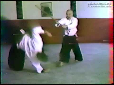 André Nocquet, 8th Dan Aikido - Jo Nage