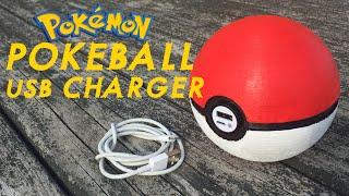 How To: Pokeball USB Charger  -  Pokemon Go