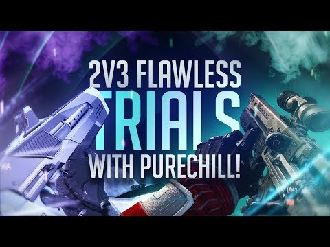 Destiny: Intense Trials of Osiris 2v3 Flawless Run W/ Purechill420!