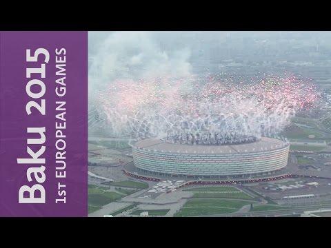 Closing Ceremony Kicks-Off   Baku 2015 European Games