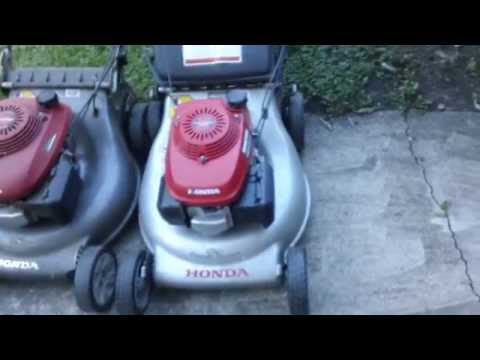 Honda HRR216 Lawn Mowers Overview + Start