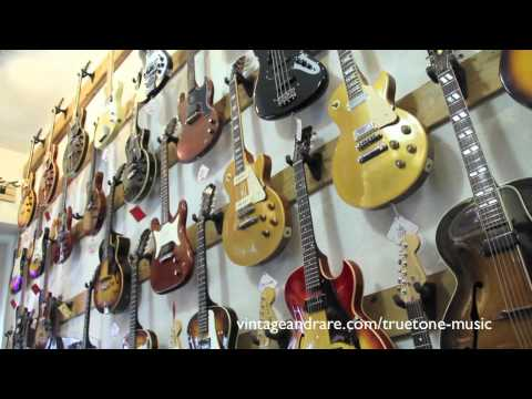 Truetone Music / Shop Tour / Vintage&RareTV