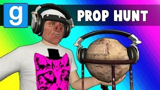 Gmod Prop Hunt Funny Moments - DJ Toilet! (Garry