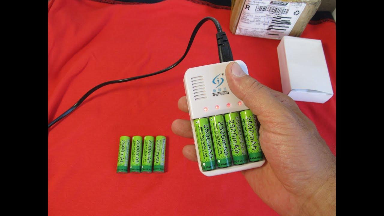 Как сделать зарядку для батареек аа