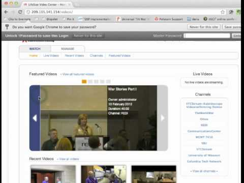How to Upload Videos to @LifeSize HD Video Center from IMovie