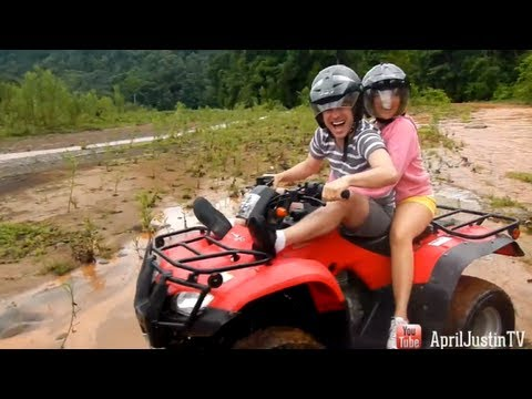 ATV tour & Playful Monkeys! Costa Rica Vacation - Day 5!
