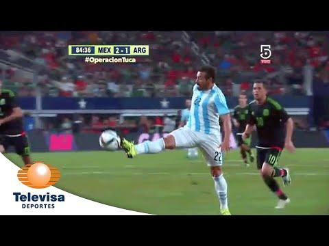 Gol de Sergio Agüero 2-1 | México vs Argentina | Televisa Deportes