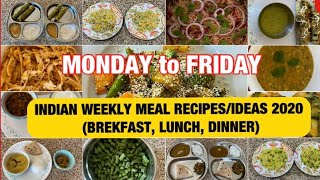 Indian weekly healthy meal planning 2020 . KIDS HEALTHY MEAL RECIPES & IDEAS !