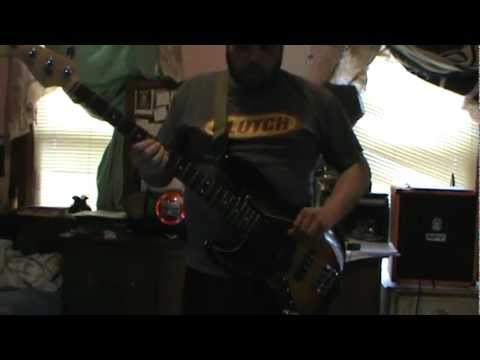 Branthrax Bass Cover - James Brown - There it is