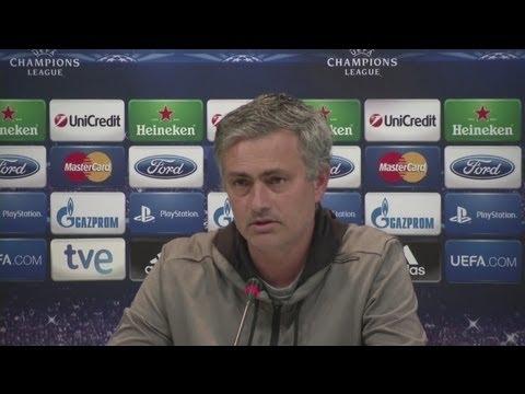 Real Madrid vs Borussia Dortmund - Champions League Semi Final - Mourinho calm ahead of 2nd leg