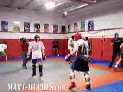 Matt-Hughes.com: Matt trains for Royce Gracie part 1 Image 1
