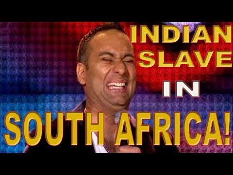 Indian slave in South Africa Russell Peters Shocked thumbnail