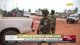 Four French soldiers questioned in CAR children rape case