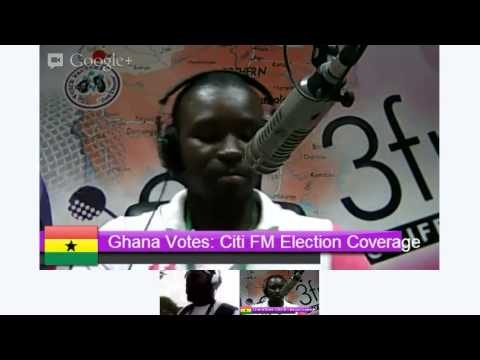 Ghana Vote: Citi FM Election Coverage