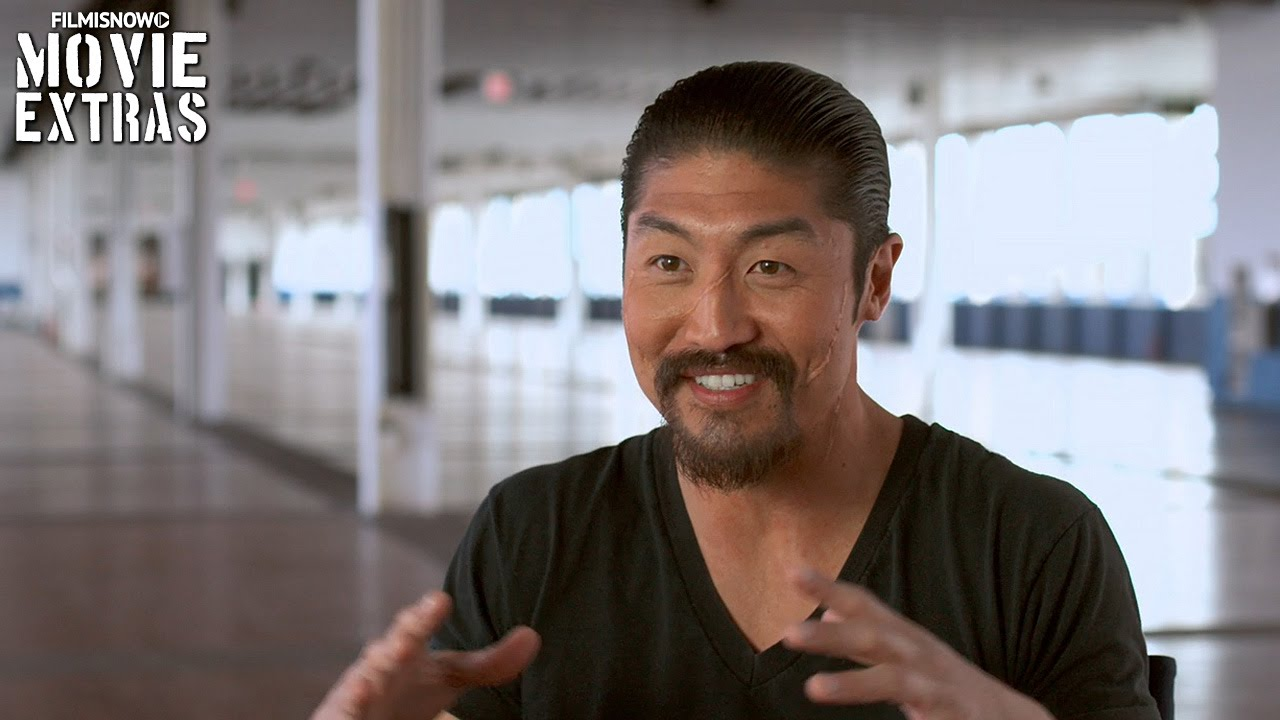 Teenage Mutant Ninja Turtles: Out of the Shadows | On-set with Brian Tee 'Shredder' [Interview]