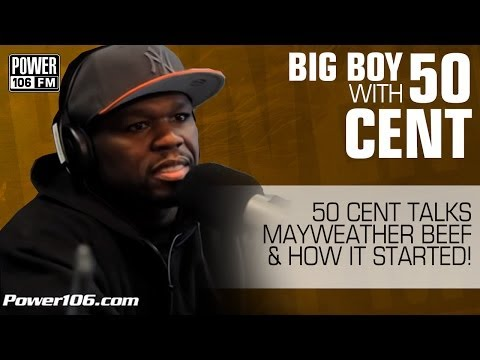 50 Cent Talks Mayweather Beef & How It Started!