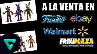 Funko Juguetes De  Five Nights At Freddy´s Originales | Donde Comprarlos $| Kenny El King