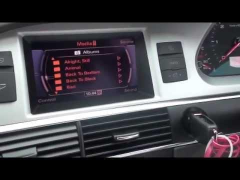Audi A6 Ami Retrofit Youtube