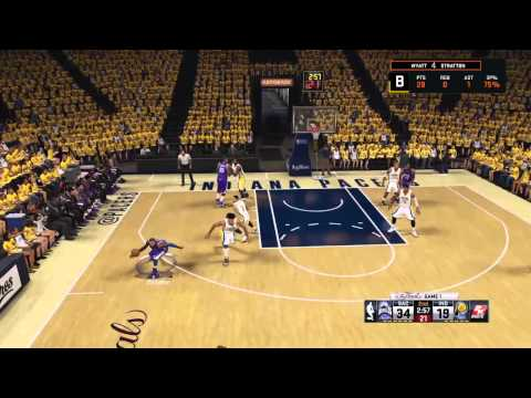 NBA2K15 Finals Game 1 Pacers vs Kings
