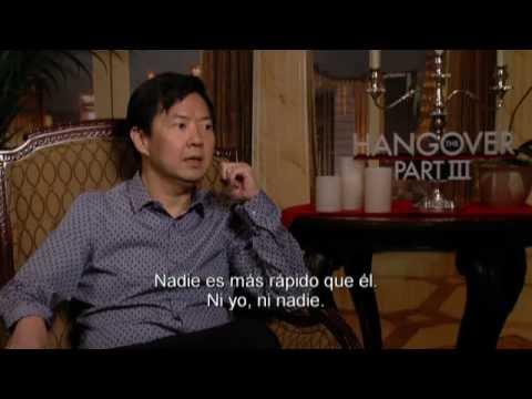 ¿QUÉ PASÓ AYER? PARTE III - Entrevista Ken Jeong Actor - Of. WB