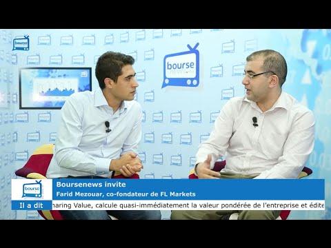 Boursenews invite : Farid Mezouar, de FL Markets