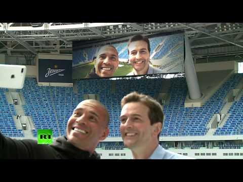 Кубок конфедераций: RT побывал на стадионе «Санкт-Петербург Арена» накануне турнира