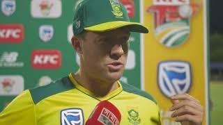 AB DE VILLIERS - 'I LOVE CRICKET' [ 1ST T20 SOUTH AFRICA VS BANGLADESH 2017]