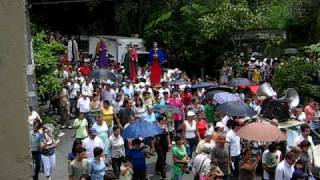 Procession of holy week - Procesion Semana Santa - Medellin Colombia