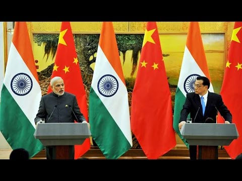 PM Modi & Chinese Premier Li Keqiang at Joint Press Statement, Beijing