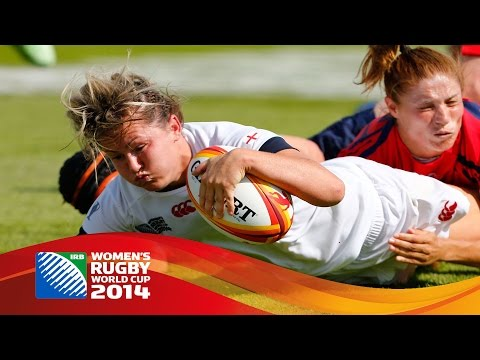 [HIGHLIGHTS] England 45-5 Spain at Womens Rugby World Cup
