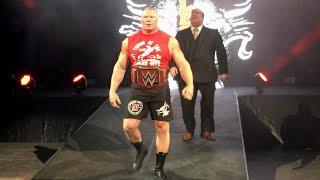 Brock Lesnar vs. Samoa Joe - WWE Universal Title Match: Exclusive, July 31, 2017