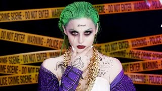 Joker Suicide Squad Makeup Tutorial