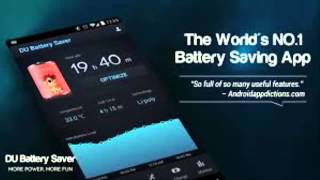 DU Battery Saver The World's Leading Android Battery Saving App!