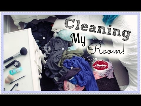 Cleaning My Room!