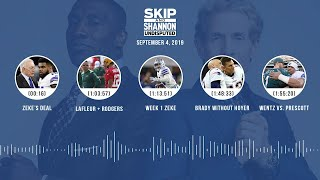 UNDISPUTED Audio Podcast (9.04.19) with Skip Bayless, Shannon Sharpe & Jenny Taft | UNDISPUTED