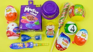 Kinder Joy And Other candies