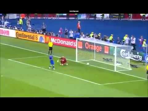 Pirlo schie t unglaublichen Elfmeter   EM 2012