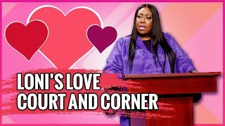 Adam & Tamera Visit Loni's Love Court