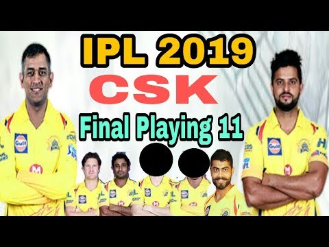 IPL 2019 Chennai Super kings Final Playing 11 | CSK IPL AUCTION | by HS Sports 13