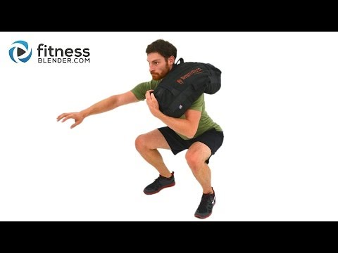 Advanced Sandbag Workout - Total Body Sandbag Training Burnout Image 1