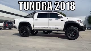 "Multiple TOYOTA TUNDRAS 2018,  Lifted & BMC for 35"" Tires"