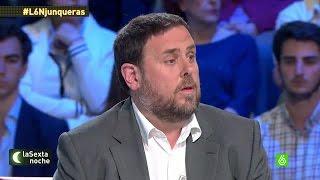 """Oriol Junqueras: """"Con la independencia podremos tratar de evitar la corrupción"""""""