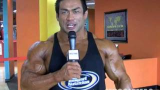 Hidetada Signs with MuscleMag!