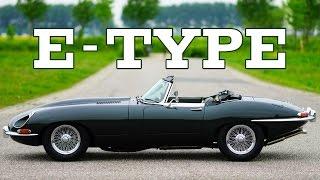 JAGUAR E-TYPE S1 3.8 Litre Convertible 1962 - Full test drive in top gear - Engine sound | SCC TV