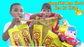 Video hài❤Bạn Ơi Kẹo Bảy Sắc Cồng Vồng Có Chân Đi ❤Baby channel❤