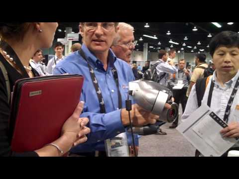 ZScanner 700 CX Demo at SolidWorks World 2010