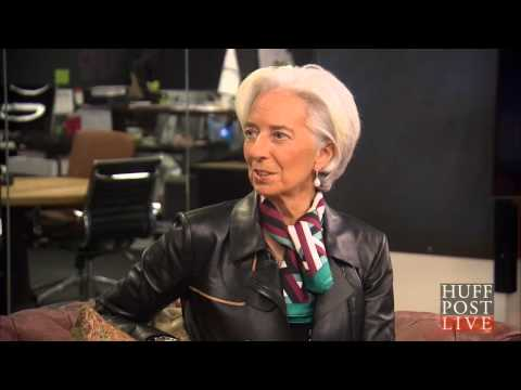 IMF Chief Christine Lagarde Discusses New Report On Women In The Workplace