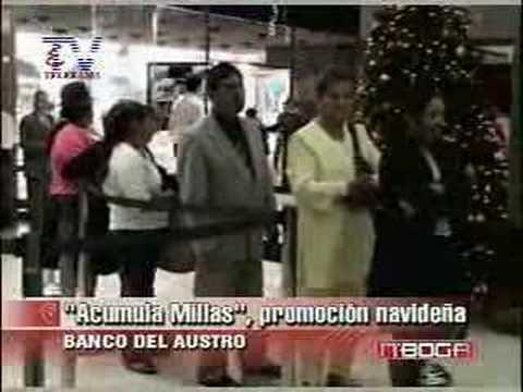 Promoción navidena banco del austro